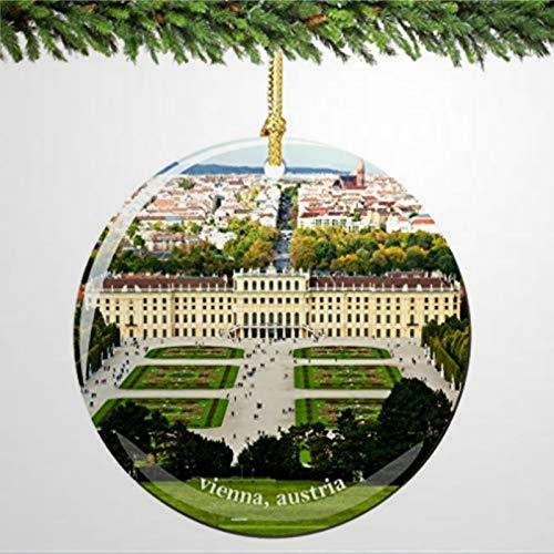 BYRON HOYLE Vienna Ornamento di Natale Austria in ornamenti di Natale Pandemic Xmas Decor Holiday regalo
