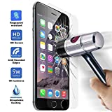 OcioDual Protector de Pantalla en Cristal Templado Premium para iPhone 6 4.7 - Dureza 9H - Alta Definicion - 0,33mm
