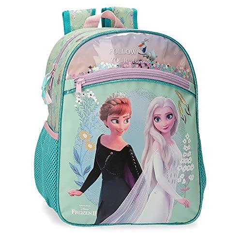 Disney Frozen Follow Your Dreams Mochila Escolar Azul 27x33x11 cms Poliéster 9 8L