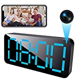 4K Hidden Camera Clock WiFi, 1080P HD Wireless Spy Camera with Night Vision and Motion Detective, Suitable for Home Office Security Cameras