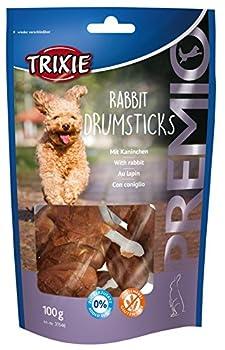 Trixie Rabbit Drumsticks Premio Friandises pour Chien 100 g 8 Pièces