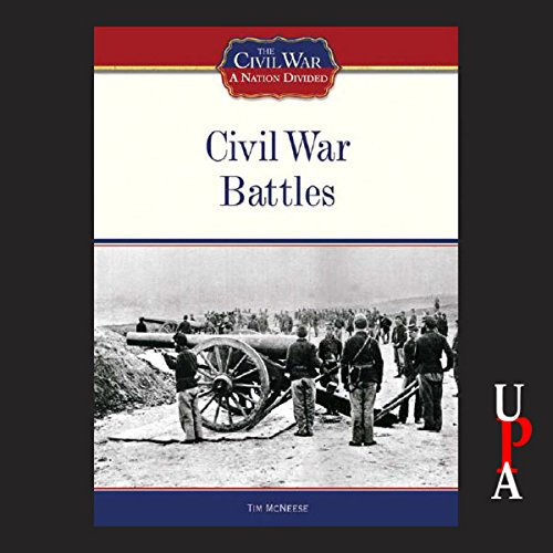 Civil War Battles audiobook cover art