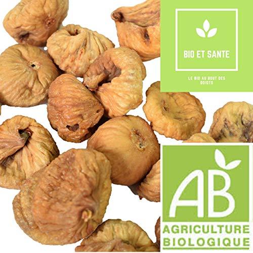 Figues Bio De Qualité Extra, 1 kg, Fruit Sec Energétique Pour Votre Apport En Vitamines et Minéraux Contribueront aux Bienfaits et à la Santé de Votre Organisme