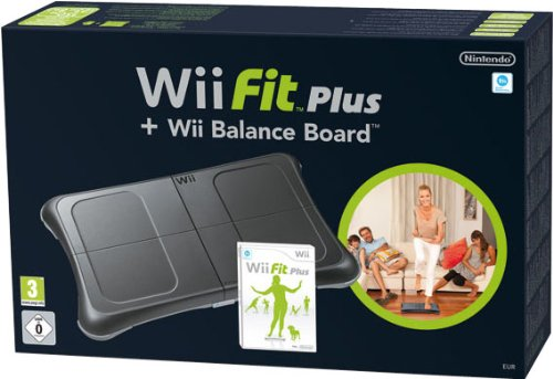 Wii Fit Plus + Balance Board, Nera [Bundle]