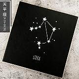 FGHOMEYWXC Constellation DIY Album Selbstklebendes Album Handgemachtes Geschenk Paar selbstgemachtes...