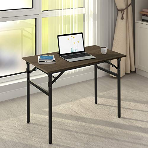 DEVAISE 42' Folding Computer Desk, Study Writing Table, No Assembly Required