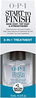 OPI Start to Finish Base and Top Coat Strengthener NT T71 by OPI for Women, 0.5 Ounce Nail Strengthener, 557.92 g