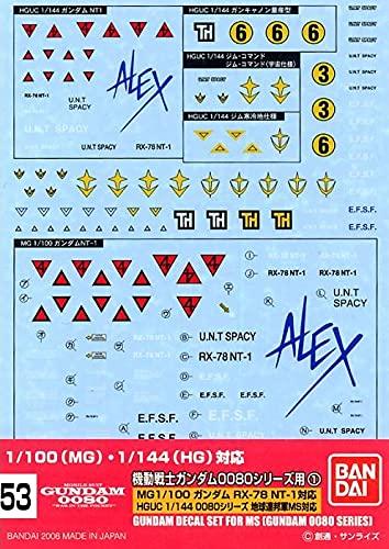 ガンダムデカール GD53 HGUC 0080シリーズ汎用(1)