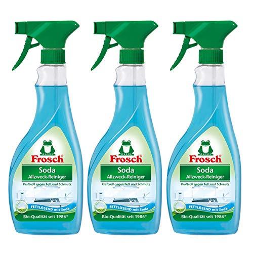3x Frosch Soda Allzweck-Reiniger 500 ml Sprühflasche