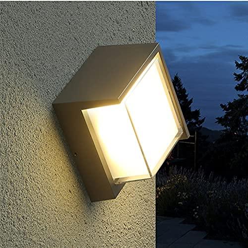 Etelux LED 玄関ライト ガーデンライト ポーチライト ウォールライト ブラケットライト アウトドアライト 玄関灯 照明 IP65防雨型 省エネ led門柱灯 壁取り付け用ライト 屋外屋内 12W 24LED(人感センサー不可+ウォームホワイト)