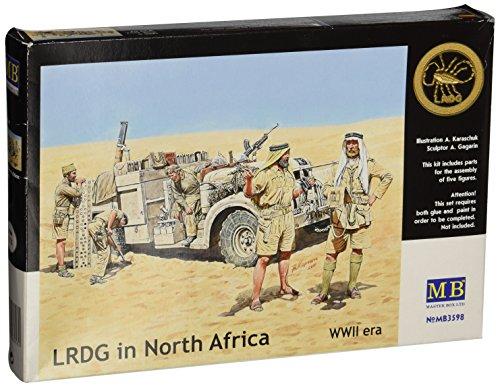 Masterbox 3598 LRDG in North Africa (Long Range Desert Group) 1:35 Plastic Kit Maquette