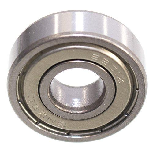 Kugellager 32 x 12 x 10 mm 6201 ZZ = 2Z Rillenkugellager Lager Metallabschirmung