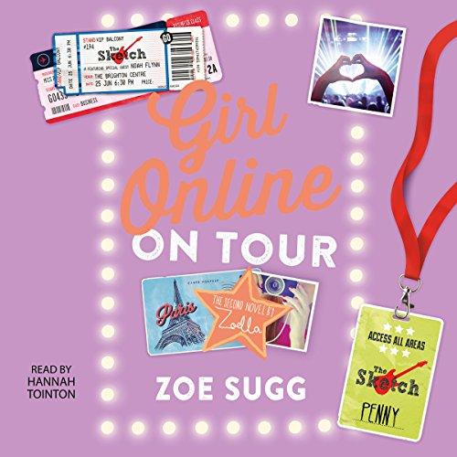 Girl Online: On Tour audiobook cover art
