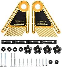 X-BAOFU, 1 Juego Doble de Cantos biselados for Trimmer Router Sierra de Mesa de carpintería Accesorios de plástico Pluma Junta Router Madera