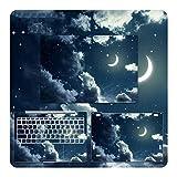 Autocollant Star Print pour ordinateur portable Xiaomi Mi Notebook Pro 15.6 Air 12.5 13.3 - Coque de...