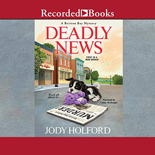 Deadly News audiobook cover art