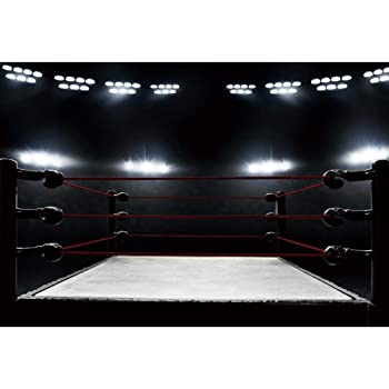 Amazon.com : DaShan 14x10ft Boxing Ring Backdrop Squared
