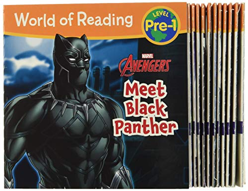 Compare Textbook Prices for World of Reading Marvel Meet the Super Heroes! Pre-Level 1 Boxed Set Illustrated Edition ISBN 9781368008525 by Marvel Press Book Group,Marvel Press Artist