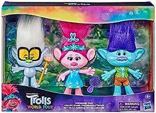Trolls World Tour Friendship Pack - 3-Piece Doll Set