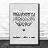 WisdomCourage #Luke #Combs #Refrigerator Door Grey Heart Song Lyric Quote Music Print Print Wall Decor Art Gifts Lovers Poster