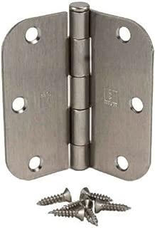 (Pack of 50) Hager 3 1/2 Inch Satin Nickel Door Hinges with 5/8