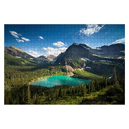 Wooden Puzzle 1000 Pieces Grinnell Glacier Trail Fantastic Stock Pictures Royalty Free Photos Jigsaw Puzzles for Children or Adults Educational Toys Decompression Game