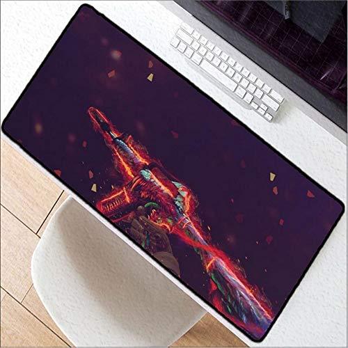 Uw eigen matten Wallpaper Keyboard Mousepads Laptop Gaming Muizen Grote Lock Edge Mousepad Grootte Voor 30X80Cm