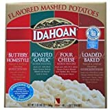 Idahoan Flavored Mashed Potatoes, Made with Gluten-Free 100-Percent Real Idaho Potatoes, Variety...