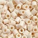 PhotoPearls - Perlas de fotos (5 x 5 mm, 2,5 mm, 6000 unidades), color beige claro