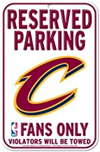 NBA Official National Basketball Association Fan Shop Authentic Parking Sign (Cleveland Cavaliers)