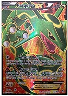 Pokemon - Rayquaza-EX (123) - BW - Dragons Exalted - Holo
