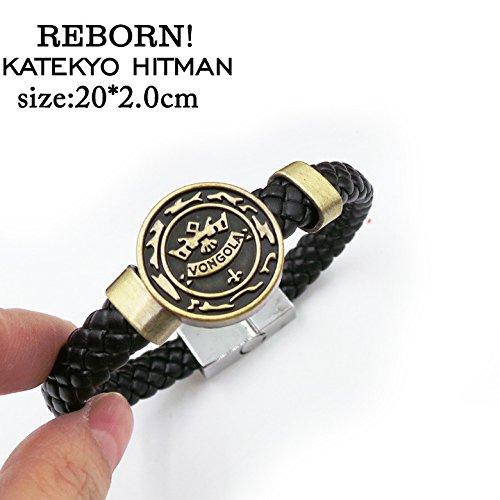 SUNKEE Reborn Katekyo Hitman Cosplay Armband Figur Spielzeug Cosplay Requisiten (Reborn Katekyo Hitman)