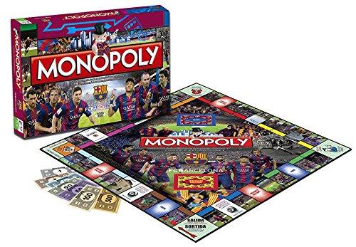 Futbol Club Barcelona-82448 F.C. Barcelona Juego Monopoly