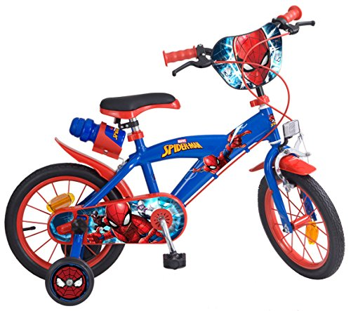 Toims 874 Spiderman Bicicletta per bambini 14 ',...