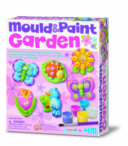 4M - 68384 - Jeu De Travail - Mould & Paint - Jardin