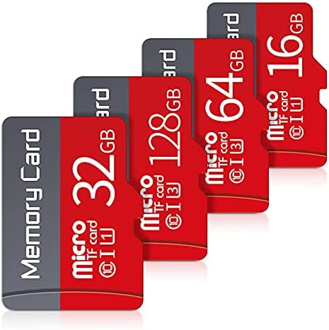 TIMOXMAS C10 high-Speed 32GB U3 Memory Card 16G TF Card 8G for Children's Camera Camera,Phone,Computer,Dash Came,Tachograph,Tablet (16GB)