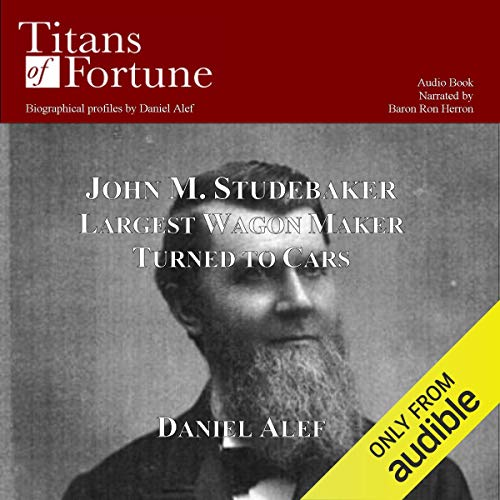 John M. Studebaker audiobook cover art