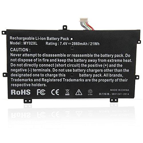 ASUNCELL Batería del Ordenador portátil para HP SLATEBOOK 10.1