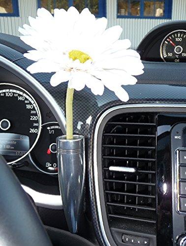 WIM-DESIGN Blumenvase aus Aluminium für KÄFER/New Beetle und Beetle 5C