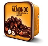 Ingredients: Almonds (37%), Sugar, Cocoa Butter, Milk Solids, Cocoa Solids, Permitted Emulsifiers (E322, E476), Glazing Agent (E414, E300, E200) & Stabilizer (E414). Shelf Life: 12 Months Specialty: Store at 15-20 C in a cool and dry place. Approx. 6...