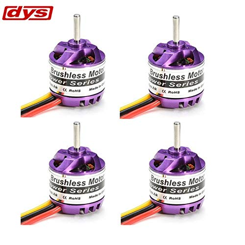 Part & Accessories 4PCS DYS D2830 2830 1300KV Brushless Motor For RC Airplane
