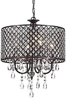 Best bronze round chandelier Reviews