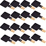 Syntrox Germany Raclette - Padella quadrata con manico in bambù (16)