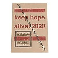 FASHION POSTER(ファッションポスター) B3(約36cm×52cm) ポスター(ヴィンテージ) ポスターのみ アート モダン シンプル 赤 メッセージ スタンプ カフェ(yoko-poster-7060-b3B3vint)