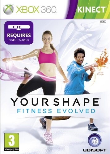 [UK-Import]Kinect Your Shape Fitness Fitness Evolved Game (Classics) XBOX 360