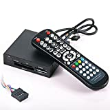 3.5' Internal Memory Card Reader with Media Center Remote Control for Pc & Windows