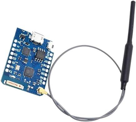 WEMOS D1 Mini Pro 16MB (128Mbit) ESP8266 comp. WiFi, Arduino Lua NodeMCU, Antenna