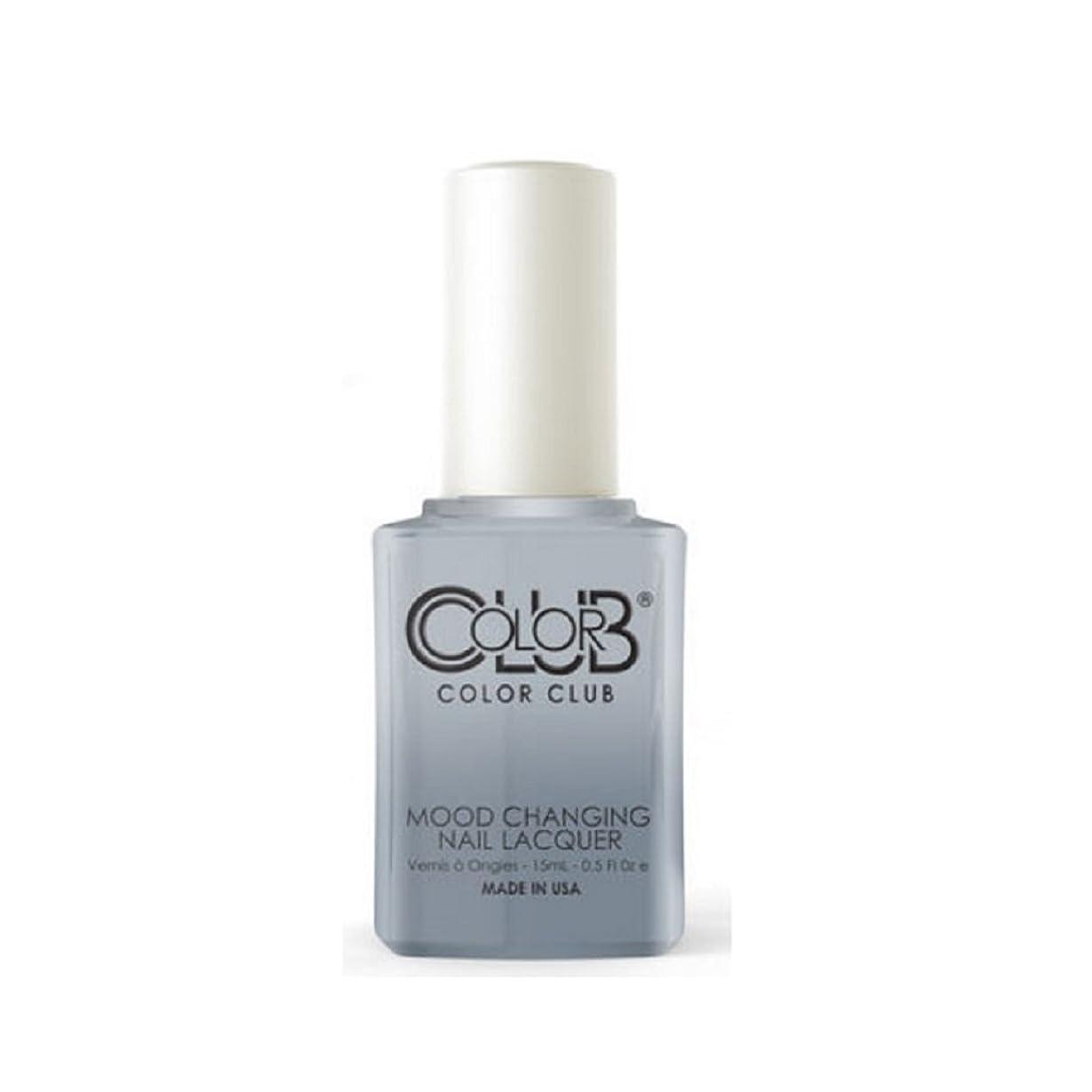動員する可聴ステープルColor Club Mood Changing Nail Lacquer - Head in the Clouds - 15 mL / 0.5 fl oz