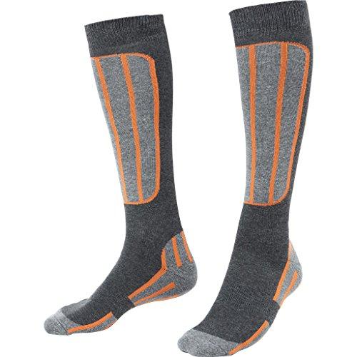 FLM Socken Sports Socken lang 1.1 orange 36-40, Unisex, Multipurpose, Ganzjährig, Textil, schwarz