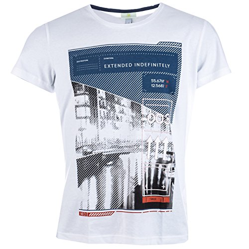 adidas Herren T-Shirt Gr. Small, weiß